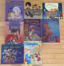 NEW Lot 8 Children's Jewish picture books lot Holidays PJ Library Hanukkah