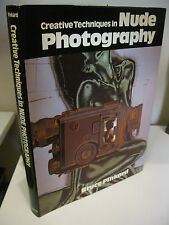 Creative Techniques in Nude Photography by Bruce Pinkard 1984 Arco Fine/NF