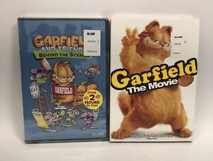 2 Garfield DVDs Garfield & Friend Behind the Scenes / Garfield The Movie SEALED