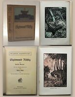 Marryat Sigismund Rüstig Abenteuerroman Belletristik um 1900 Jugendbibliothek xz