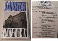 Longton (Staffordshire) A Century On Film. VHS PAL Video Tape