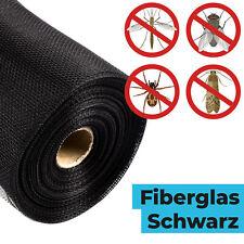 Fliegennetz Fliegengitter FENSTER Meterware Spannrahmen Fiberglas Insektenschutz