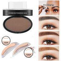Natural Eyebrow Powder Makeup Brow Stamp Palette Delicated Shadow Definition Set