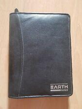 Earth Universe Adressbuch + Notizbuch + Telefonbuch, Schwarz