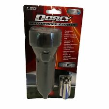 Dorcy 55 Lumen Floating Waterproof LED Flashlight with Carabineer Clip Dorcy,