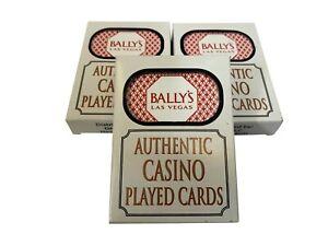 *** BALLYS *** LAS VEGAS CASINO PLAYING POKER CARDS - CHOOSE QUANTITY