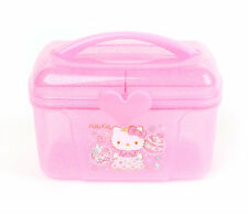 Sanrio Hello Kitty Caboodle Organize Travel Cosmetic Case: Sweet Princess