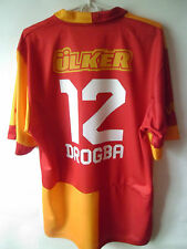 RARE!!! EXCELLENT!!! DROGBA !!! Galatasaray Home Shirt 2012 - 2013 Jersey XL