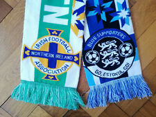 ISLAND Schal neu+100 /% Acryl+  Fan Kurve Block ICELAND WM ISLAND 2018