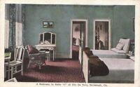 Postcard A Bedroom Suite C De Soto Hotel Savannah GA