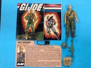 GI JOE DUKE FIGURE 1984 COMPLETE UNBROKEN!