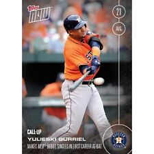 Lot of (10) 2016 Topps Now #381 Yulieski Gurriel CALL-UP Astros Print Run: 777