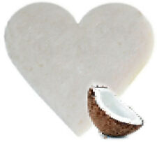 """"""""""" SPECIAL OFFER """"""""   3 x Coconut Heart Shaped Guest Soaps - FREE P+P"""