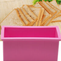 1.2L Food Grade Silicone  Loaf Toast Cake Bread Moulds Trays Rectangle Mold Pan