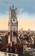 Rarität Foto AK 1915 Freiburg im Breisgau Schwabentor mit weiteren Gebäuden