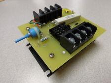 1) DRESSER-RAND H35117 H-35117 BOARD CARD PC HEATSINK RELAY w/ NTE219 TRANSISTOR