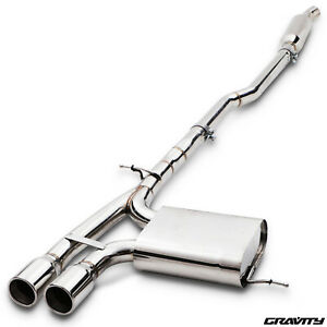 """2.5"""" STAINLESS CAT BACK EXHAUST SYSTEM  FOR BMW MINI F56 COOPER S 2.0 TURBO 14+"""
