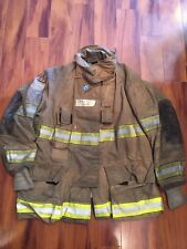 Firefighter Globe Turnout Bunker Coat 48x35 Halloween Costume
