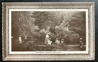 1913 Mussorie India Picture Postcard Cover to Athens Greece Botanical Garden