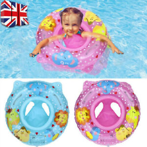 Baby Swim Safe Seat Swimming Ring Inflatable Pool Float for Toddler 6 -36 months