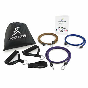 Xtreme Power Resistance Bands Set for Heavy Duty Full-Body Training and Workouts