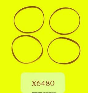 hornby oo spares x6480 1x pack of 4 loco traction tyres (22mm) for fowler cl 2p