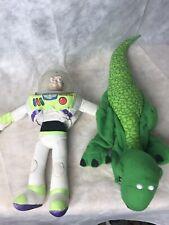 Disney Pixar Toy Story Burger King Kids Meal Finger Puppets Buzz Lightyear & Rex
