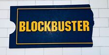 "Blockbuster Video Display Sign 30.5"" x 15.5"" Perfect For Man Cave Theatre Room"