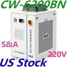 US - CW-6200BN Industrial Water Chiller for 200W Laser Diode 220V 60Hz