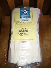 NORTH STAR WHITE OX 1015 Gauntlet Gloves 12 pair LARGE made in the U.S.A.