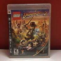 LEGO INDIANA JONES 2 THE ADVENTURE CONTINUES PS3 MANUAL COMPLETE W/ MANUAL