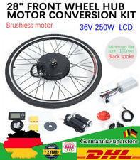 "28"" 36V ruota anteriore E-Bike kit di conversione bici elettrica LCD 250W motore"