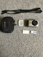 Canon PowerShot A490, Camrea Bag, Memory Stick Duo Adaptor, And 4GB SD Card