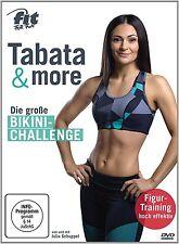 FIT FOR FUN - TABATA & MORE: DIE GROßE BIKINI-CHALLENGE  DVD NEU