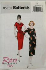 Butterick Retro 1958 Design Sewing Pattern B5707 Dress Uncut Size 6-14