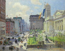 Cooper Campbell Colin New York Public Library Canvas 16 x 20  #6763