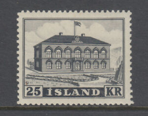Iceland Sc 273 Parliament Building VF Mint Never Hinged