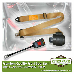 Front Automatic Seat Belt For Aston Martin Virage Coupe 1989 Shape Beige