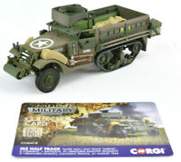 Corgi M3 Half-Track - Cantigny France 1:50 Die-Cast Military Vehicle CC60418