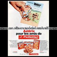 ASTERIX & les pains grillés PELLETIER Uderzo 1974 - Pub / Publicité / Ad #A15
