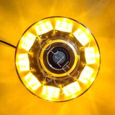 10LED Hi-Power Warning Emergency Roof Beacon Flash Strobe Light 12V Amber Yellow