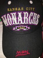 e67e663abd4c4e Big Boy Kansas City Monarchs Legends S2 Mens Baseball Cap [Black -  Adjustable]