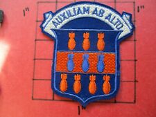 ORIGINAL AIR FORCE PILOT SQUADRON PATCH USAF 334 BOMB GROUP B-25 1942-1944 WWII