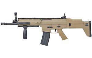 Softair Gewehr 8902A Tan ABS Airgun Sturmgewehr Karabiner mit Munition 85cm