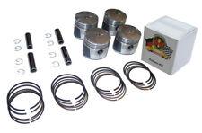 Honda CB 750 K0-K6 Kolben Kit - Übermaß +1.25 mm / Kolbenringe Piston rings