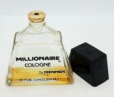 Millionaire Cologne By Mennen 3.5 Fl Oz  Vintage Bottle