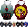 Rapper Logic Cotton 3D Hoodie Hooded Sweatershirt Pullover Hip Hop Fans Singer