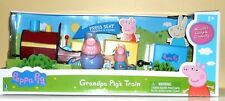 """PEPPA PIG 12"""" GRAND PA TRAIN WITH TRAIN SOUNDS AND SONGS 2 FIGURES"""