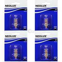 4x NEOLUX H1 55W P145s 12V Birne Blister