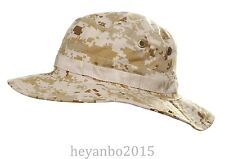 TACTICAL SWAT MILSPEC BOONIE HAT MILITARY SNIPER HUNTING CAP - DIGITAL DESERT